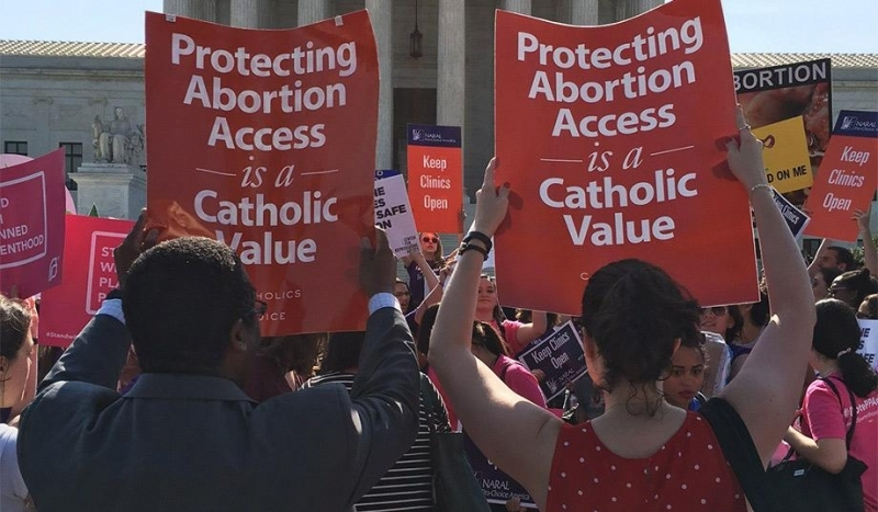 Catholics for contraception and abortion access