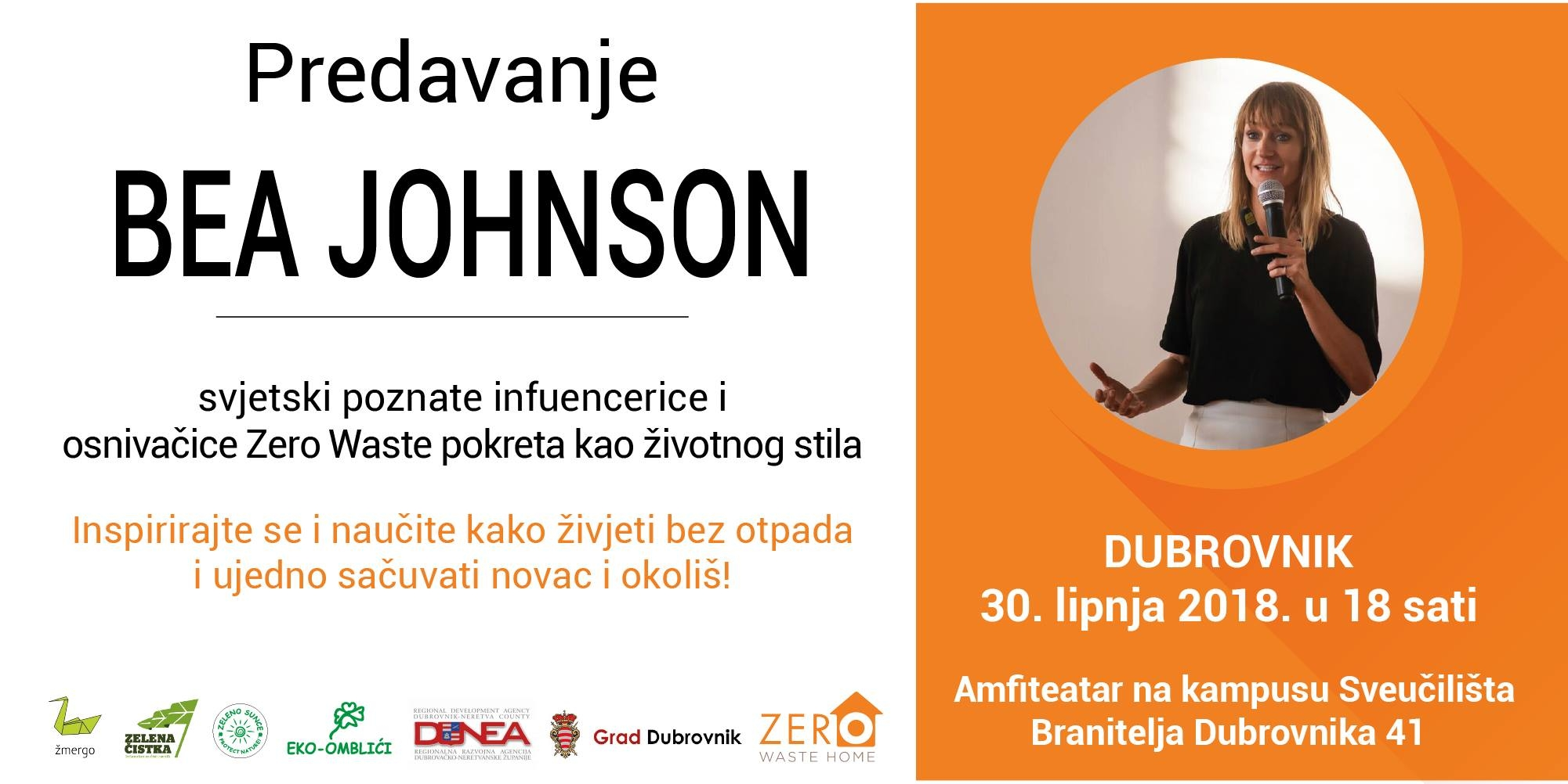 Zero waste home: Bea Johnson u Dubrovniku