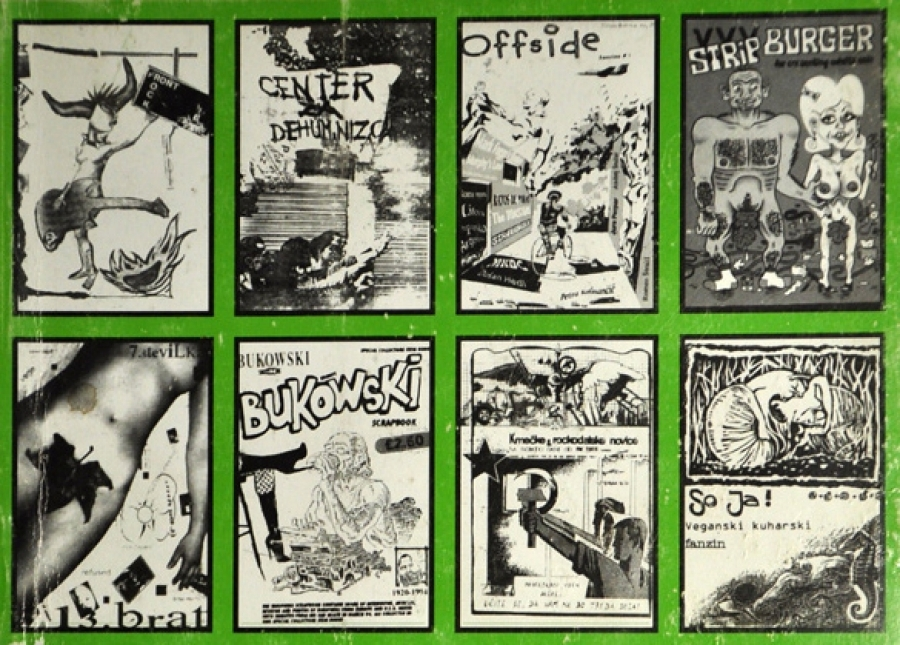 A personal history of the Slovene zine scene
