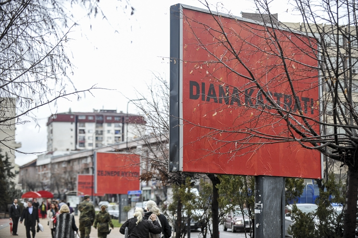 'Three billboards in Prishtina, Kosovo' ukazuju na problem obiteljskog nasilja
